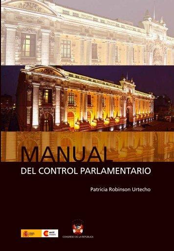 Manual del Control Parlamentario - Congreso de la República del ...
