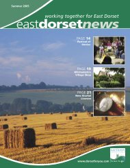 East Dorset News.indd - Dorsetforyou.com