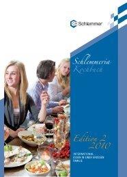 Schlemmeria Kochbuch Edition 2 2010