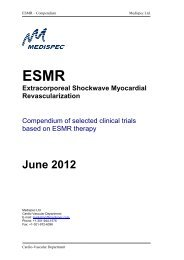 Compendium of selected clinical trials based on ... - Strumedical.com