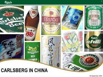 12.10.05 China Strategy.pdf - Carlsberg Group