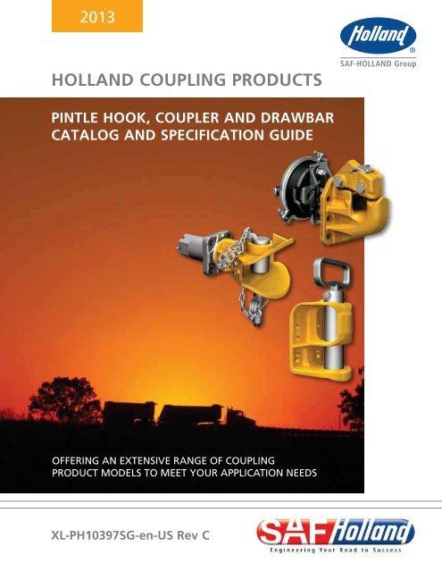 Holland Hitch PH-30RP41 Pintle Hook Assy,30,000Lb