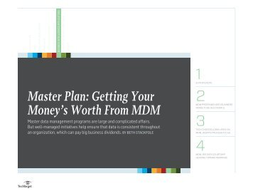 Master Plan: Getting Your Money's Worth From MDM - Bitpipe