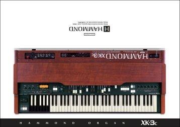 XK-3c - Hammond.de
