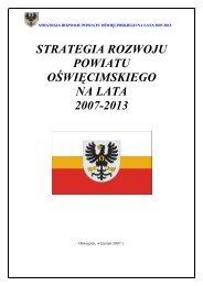 Strategia Rozwoju Powiatu Oświęcimskiego na lata 2007-2013.pdf