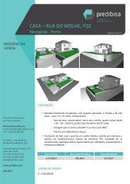 CASA – RUA DO MOLHE, FOZ - EGO Real Estate