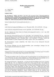 Bundesverfassungsgericht Beschluss - Technolex