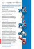 Abwasseranwendungen mit Egger Kreiselpumpen und Blenden-Regulierschiebern. Rohabwasserpumpen, Sandfangpumpen, Rezirkulationspumpen, Rücklaufschlammpumpen, Belüftung Belebung, Regelblende, Faulturmumwälzpumpe, Einlaufpumpwerk, Pumpe Kläranlage - Seite 6