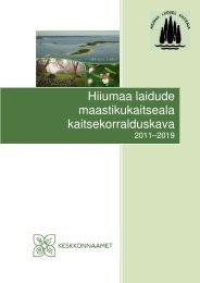Hiiumaa laidude maastikukaitseala ... - Keskkonnaamet