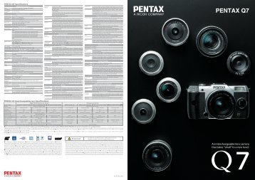 "An interchangeable-lens camera that takes ""small"" to a new ... - Pentax"