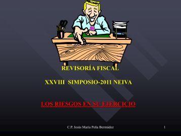 Los Riesgos en el Ejercicio de la RF-Jesus María ... - Asconphu.com