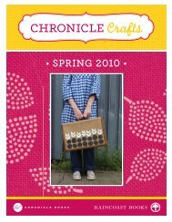 Chronicle Craft Catalogue for Spring 2010 (PDF) - Raincoast Books