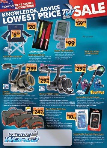 Tackle World Summer Catalogue 2011.pdf - Tackle World Bundaberg