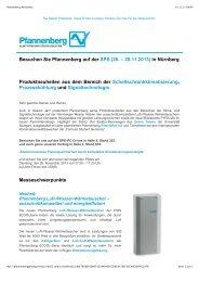 Pfannenberg Newsletter - Wagner GmbH