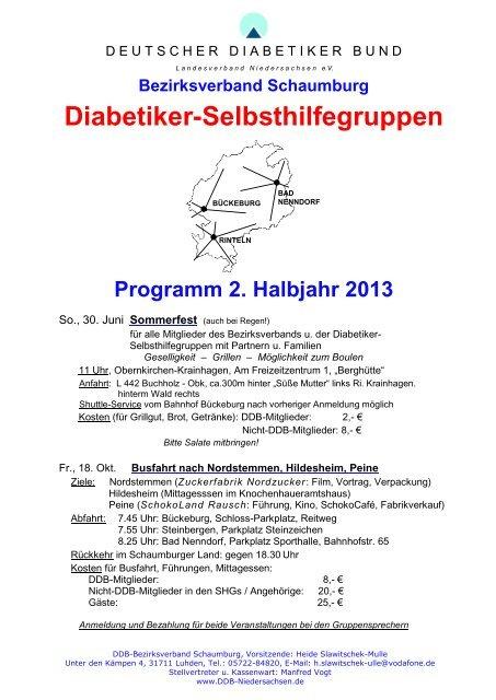 Deutscher diabetiker bund bayern