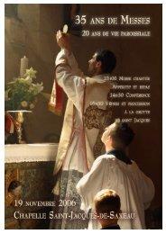 20 ans de Messe • Chapelle Saint Jacques-de ... - La Porte Latine
