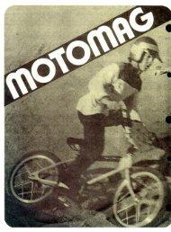 mongoose 1974 motomag pricelist - Vintage Mongoose