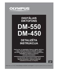 DETALIZĒTA INSTRUKCIJA DIGITĀLAIS DIKTOFONS - Olympus