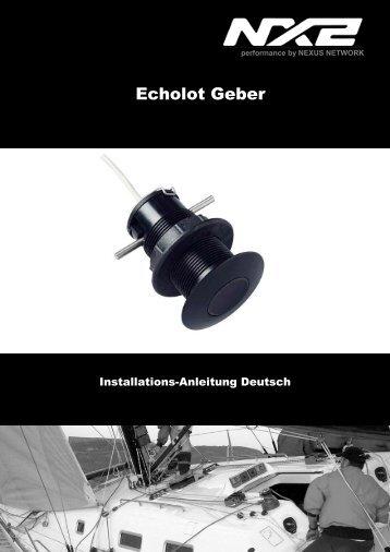 Echolot Geber - Hippopotamus