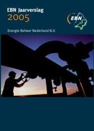 Jaarverslag 2005 - EBN