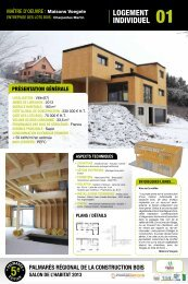 LOGEMENT INDIVIDUEL - FIBOIS Alsace
