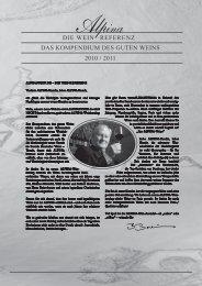 2010 / 2011 die wein referenz das kompendium des ... - Alpina Wein
