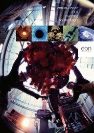 Annual Report 2007 Investing for the future - EBN