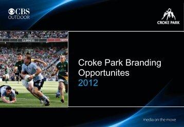 Croke Park Branding Opportunites 2012