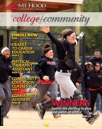 college community - Mt. Hood Community College