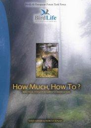 BirdLife European Forest Task Force - Sabima