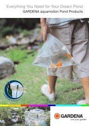 GARDENA aquamotion Pond Products
