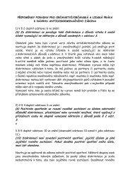 Připomínky Poradny pro občanství/občanská a lidská práva k návrhu ...