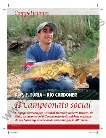 II Campeonato social - Solopescaonline.es
