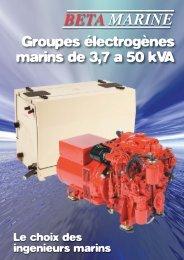 french Gensets Brochure.qxd:Layout 1 - Béta Marine