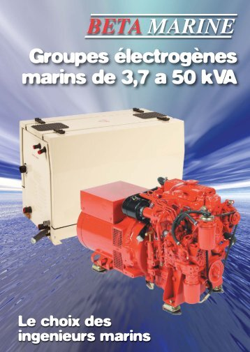 french Gensets Brochure.qxd:Layout 1 - Béta Marine