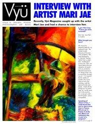 INTERVIEW WITH ARTIST MARI JAE - Vyu Magazine