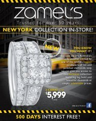 new YoRk collEcTIoN IN-SToRE! - Zamel's