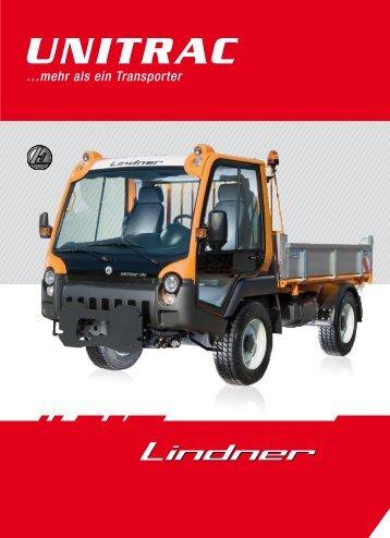 Unitrac Prospekt Kommunal - Lindner Traktoren