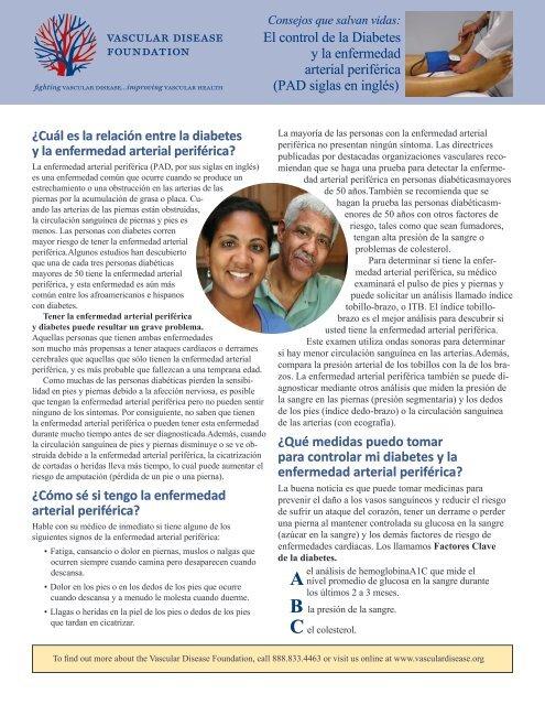 diabetes enfermedad arterial