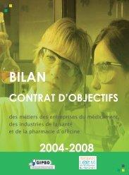 Retrouvez le contrat d'objectifs 2004-2008 du GIPSO.