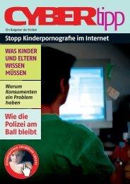 Cybertipp (727 kB, PDF)