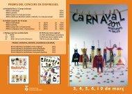 El programa d'activitats en format pdf - Ajuntament de Montornès del ...