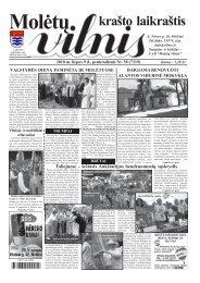 2010 m. liepos 9 d., penktadienis Nr.50 - 2013 - VILNIS