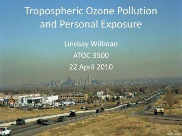 Personal Ozone Monitor - University of Colorado at Boulder