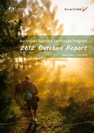 Outcome Report – Australia's Coastal Wilderness - Tourism Australia