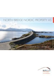 NORTH BRIDGE NORDIC PROPERTY AS