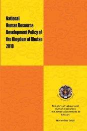 National Human Resource Development Policy, 2010