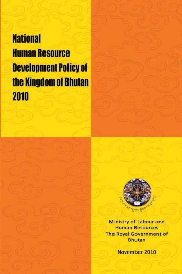 National Human Resource Development Policy, 2010