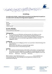 Anmeldung und Infos zu den Unkostenbeiträgen - Bücherpiraten eV