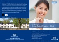 Brochure Beeckestijn Business School - Callcenter Makelaar